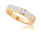 Image for Princess Channel set Diamond Eternity Ring