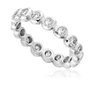 Image for Modern Round Diamond Full Eternity Ring