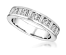 Image for Round & Baguette Diamond Full Eternity Ring