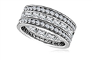 Image for Round & Princess Diamond Full Eternity Ring