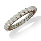 Classic Round Diamond Full Eternity Ring