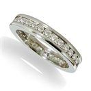Image for Channel Set Round Eternity Diamond Ring