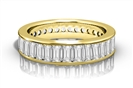 Image for Elegant Baguette Diamond Full Eternity Ring