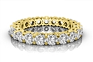 1.00CT I1/FG Round Diamond Eternity Ring
