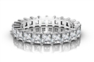 Classic Princess Diamond Full Eternity Ring