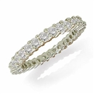 Round Diamond Full Eternity Ring