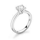 1.00CT I1/G Round Diamond Solitaire Ring
