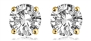 Image for 0.22CT VS/F Round Diamond Stud Earrings