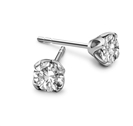 0.46CT I1/FG Round Diamond Stud Earrings