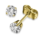 Image for Traditional Round Diamond Stud Earrings