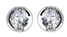 0.35CT VS/F Round Diamond Stud Earrings