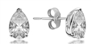 Image for Classic Pear Diamond Stud Earrings