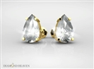 Image for Pear Diamond Stud Earrings