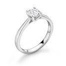 1.50CT SI2/G Round Diamond Solitaire Ring