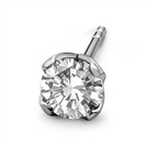 Mens Diamond Single Stud Earring