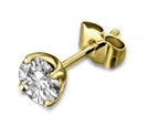 Image for Classic Mens Diamond Single Stud Earring