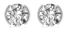 Image for Round Diamond Stud Earrings
