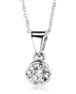 Image for Classic Round Diamond Solitaire Pendant