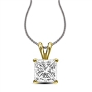 Image for Traditional Princess Diamond Pendant