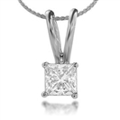 0.23ct VS/F Diamond Solitaire Pendant