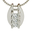 Image for Princess Trilogy Diamond Pendant