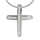 Image for Unique Princess Diamond Cross Pendant