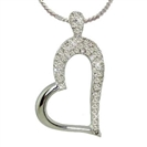 Image for Diamond Heart Pendant
