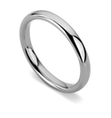 Image for 2.5mm Court Shape Wedding Ring