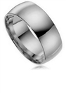 Image for 9mm Court Shaped Wedding Ring