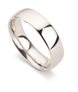 Image for 10mm Court Shape Wedding Ring