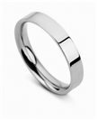 Image for 4mm Flat Court Wedding Ring