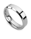 Image for 5mm Bevelled Court Wedding Ring