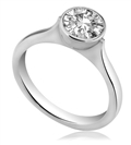 Image for 0.48CT SI/H Round Diamond Ring