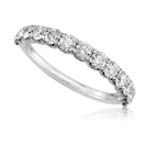 0.50CT SI/F Round Diamond Ring