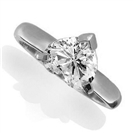Image for CERTIFIED 0.30CT SI2/G Heart Diamond Ring