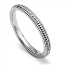 Image for 2.5mm Vintage Court Shape Wedding Ring