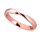 Image for 3mm Court Shaped Wedding Ring