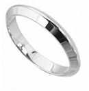 Image for 3mm Knife Edge Wedding Ring