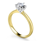 1.02CT SI1/J Round Diamond Solitaire Ring
