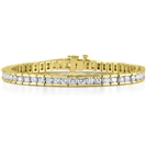 Image for 1.09ct SI1/FG Round Diamond Bracelet