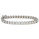 Image for Round Diamond Tennis Bracelet