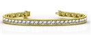 Image for Classic Round Diamond Tennis Bracelet