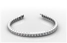 Image for Classic Princess Diamond Tennis Bracelet