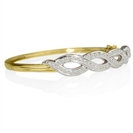 Image for Designer Round Diamond Set Bangle