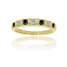 Image for Round Eternity Black Diamond Ring