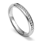 2.5mm Round Diamond 40% Wedding Ring