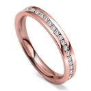 Image for 3.5mm Round Diamond 40% Wedding Ring