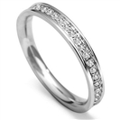 Image for 3mm Round Diamond 40% Wedding Ring