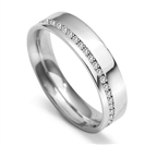 Image for 5mm Round Diamond 40% Wedding Ring