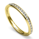 Image for 2.5mm Round Diamond 40% Wedding Ring